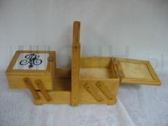 Pudełko na nici - dekoracyjne