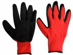 Rękawice robocze czerwone