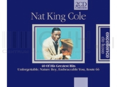 Nat King Cole - 40 Of His Greatest Hits 2CD