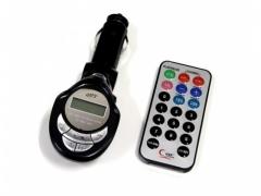 Transmiter FM + pilot odtwarzacz MP3 czytnik SD