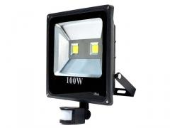 HALOGEN LED 100W + CZUJNIK NAŚWIETLACZ LAMPA