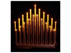 Świecznik metalowy  LED  709s