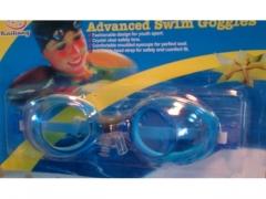 Okulary do pływania + zatyczki do uszu