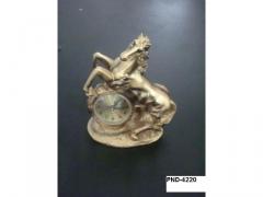 Zegar kominkowy Koń