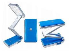 Lampka biurkowa 24 led składana akumulator 230v