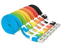 Kabel  USB - micro USB płaski kabel 1m