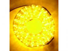 Wąż Świetlny LED 10 m Biały Ciepły + programator