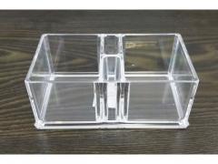Akrylowy stojak na kosmetyki 14x8cm