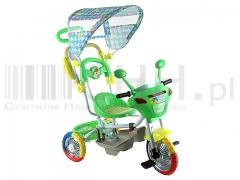 Rowerek dziecięcy z baldachimem