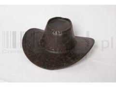 kapelusz skóropodobny 803