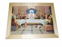 Obrazek drewniany święty 20 cm x 26,5 cm