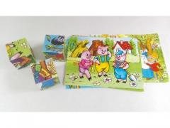 Zabawka układanka edukacyjna - różne wzory