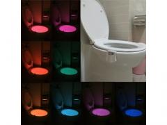 Lampka Led do WC toalety czujnik ruchu