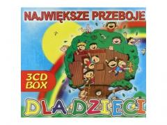 Największe Przeboje Dla Dzieci 3CD