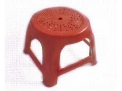 Taboret mały stołek turystyczny dziecięcy czerwony