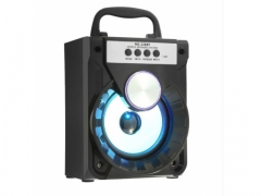 GŁOŚNIK bluetooth BOOMBOX mp3 SD FM USB LED 8W