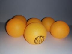 Piłeczki do ping ponga 40 mm zestaw 6 szt pong