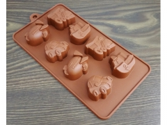 Silikonowa forma do czekolady pojazdy