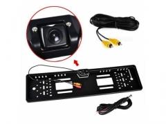 Tablica rejestracyjna z kamerą cofania LED w ramce