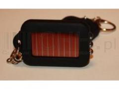 Brelok latarka solar  na baterie słoneczne