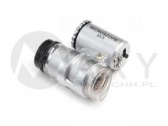 Mini mikroskop 45X z podświetleniem i zoomem