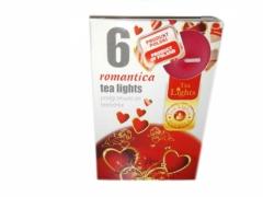 Świeczki tea light 6 szt - Romantica