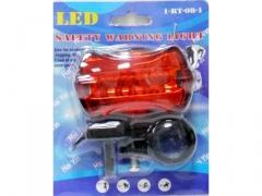 Lampka do roweru tylna 5 LED lampa rower rowerowa