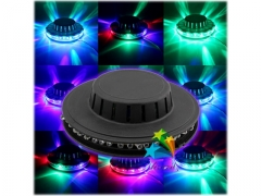 LAMPA DYSKOTEKOWA LED EFEKT DISCO LASER RGB UFO