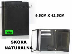MĘSKI PORTFEL SKÓRZANY / 5601 / KEPPER