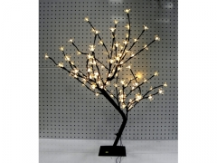 Drzewko świąteczne 96led 70cm mix kolor kwiatam