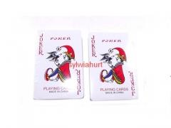 Karty 2 talie plastikowe + etui