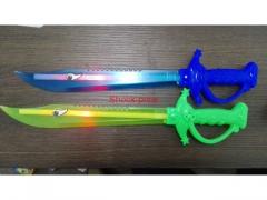 Miecz świecący 39cm - 2 kolory