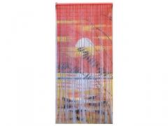 zasłona dekoracyjna drewniana kurd01