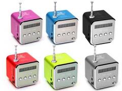 GŁOŚNIK PRZENOŚNE RADIO FM microSD USB MP3