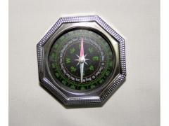 Kompas metalowy 8-kątny