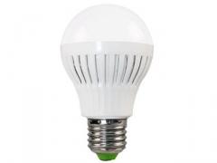 Żarówka LED 9W E27 z czujnikiem - barwa zimna