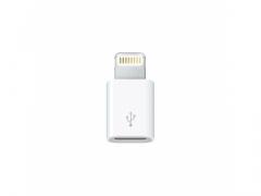 Przejściówka adapter micro USB na lightning iphone