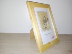 Fotoramka na zdjęcia drewniana Ramka PL 10 cm x 15