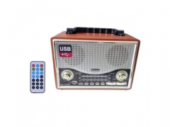 RADIO BLUETOOTH RETRO MP3 USB TF AUX RETRO