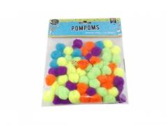 Gumki pompony 20 szt