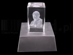 Ozdoba szklana świecący Papież 3D