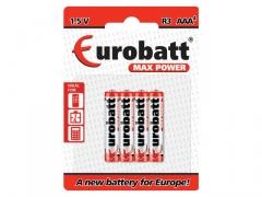 Baterie R3 Max Power BP4 EUROBATT 4szt