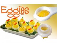 Eggies - pojemnik do gotowania jajek bez skorupek