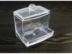 Akrylowy stojak podajnik do patyczków do uszu