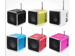 PRZENOŚNY GŁOŚNIK MINI USB RADIO FM MP3 SD METAL