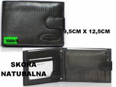 MĘSKI PORTFEL SKÓRZANY / 5600B / KEPPER