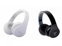 SŁUCHAWKI BEZPRZEWODOWE BLUETOOTH RADIO FM MP3 SD