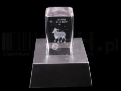 Ozdoba szklana zodiak świecący 3d