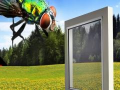 MOSKITIERA Siatka na okno Komary 130/160 cm KOLORY