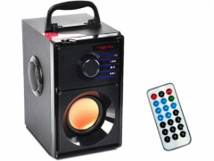 GŁOŚNIK BLUETOOTH MP3 RADIO FM SD USB BOOMBOX